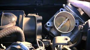 how to clean the throttle body on a 2008 nissan altima youtube