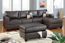 Black Leather Couch Living Room Ideas Chic Design Ideas Using Round White Hanging Pendants And L Shaped