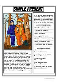 free thanksgiving reading worksheets 251 free esl text worksheets
