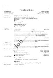 Example Job Resume by 100 Title For Resume Example Resume Example Example Of