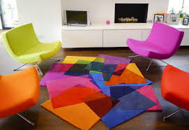 Funky Rugs Rugs Round Rainbow Rug For Funky Floor Idea