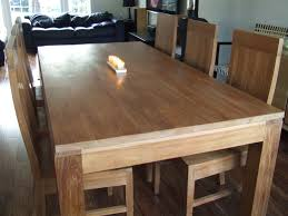 8 seater solid wood dining set the maui