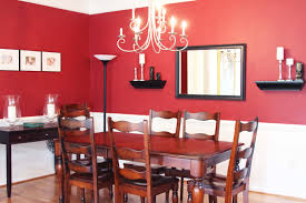 crafty ideas red dining room wall decor room simple decoration