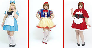 Chubby Halloween Costumes Marshmallow Girls Cosplay Size Costumes