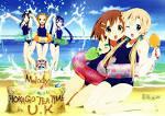 Image - HTT beach celebration.jpg - K-ON! Wiki