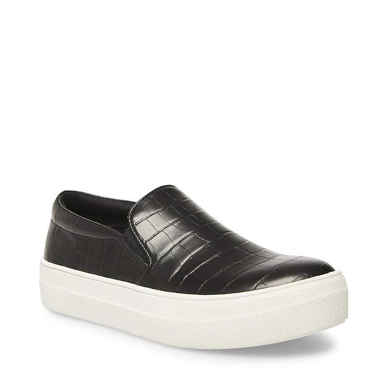 Steve Madden Gills Slip On Platform Sneaker, Adult,