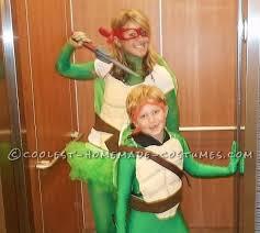 Halloween Ninja Turtle Costume Coolest Mom Son Ninja Turtles Costumes Turtle Costumes