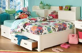 White Bookcase With Drawers by Park City White Full Bookcase Storage Lounge Bed From Legacy Kids