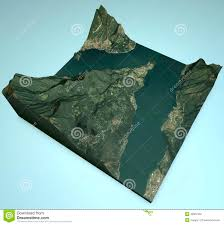 Como Italy Map by Bellagio Satellite View Map Lake Como Lecco Italy Stock