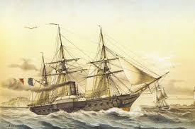 French frigate Descartes