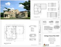 Small Cabin Floor Plans Free 100 Cottage Plans The Hall Springs Cottage House Plans By