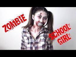Girls Zombie Halloween Costumes Halloween Tutorial Zombie