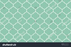 seamless turquoise wide moroccan pattern vector stock vector