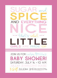 Invitation Cards For Baby Shower Templates Template Baby Shower Invitations Card For Girls