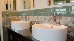 Tile Ideas For Bathroom Lovely Glass Tile Ideas For Small Bathrooms With Small Bathroom
