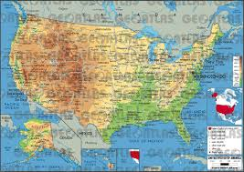 States Of United States Map by Geoatlas Countries United States Of America Map City