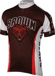 red cycling jacket the brown university brown bear cycling jersey