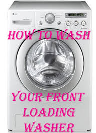 how to clean your front loading washer and get rid of that smell