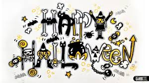 halloween letter template how to write graffiti style