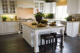 Remodeled Kitchens With White Cabinets by Kitchen Cabinet Colors With Dark Floors Outofhome