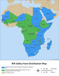 Map Of Mali Africa by Rvf Distribution Map Rift Valley Fever Cdc