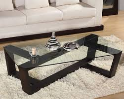 modern wood and glass coffee table the glass top coffee table for a perfect modern accent