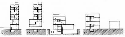 barshch vladimirov housing commune first floor plans with four