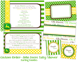 john deere baby shower invitations u2013 frenchkitten net