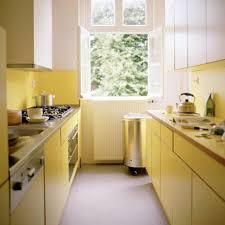 kitchen amusing galley kitchen designs with yellow furniture