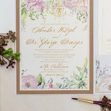 Invitation Card Of Wedding 2016 Trends Big Floral Wedding Invites Are Back Momental