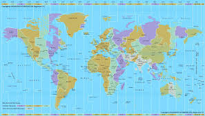 World Time Zones Map by Heavenly Mathematics U0026 Cultural Astronomy