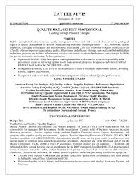 Fast Food Resume Samples by Asq Certified Quality Engineer Sample Resume 13 Quality Control