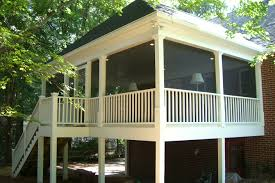 Screen Porch Roof by Signature Screen Porches Triad Home Improvements Winston Salem