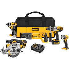 home depot black friday 2016 tools sale dewalt 20 volt max lithium ion cordless combo kit 5 tool with 2
