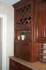 furniture excellent ideas of kitchen cabinet wine racks vondae archaic