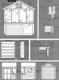 Plans For Building A Wood Storage Shed by 8 8 Shed Building Plans U2013 How To Build A Storage Shed Easily