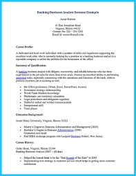 Sample Investment Banking Analyst Resume Business Analyst Investment Banking Resume