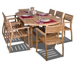amazon com amazonia teak coventry 9 piece teak oval dining set amazon com amazonia teak coventry 9 piece teak oval dining set patio lawn garden