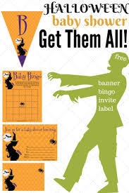 Halloween Free Printable Invitations 147 Best Baby Shower Halloween Theme Images On Pinterest Baby