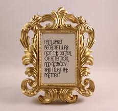 gold framed quote blanche quote golden girls home decor gift