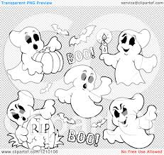 black and white halloween backgrounds cartoon of black and white halloween ghosts and bats royalty