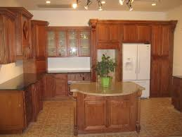 astounding brown color maple kitchen cabinets come with double
