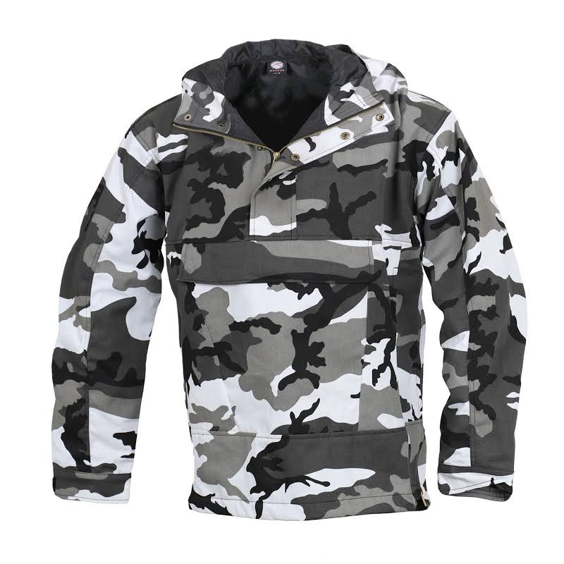 Rothco Camo Anorak Parka 3597 2XL by ArmyNavyPX City Camouflage