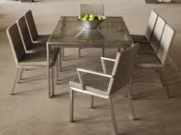 Metal Dining Room Chair Woven Dining Room Chairs Bowldert Com
