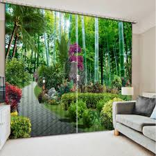 curtains home decor online get cheap forest print curtains aliexpress com alibaba group