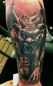 cool gargoyle tattoo awesome tattoos inkspiration pinterest
