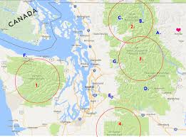 Map Of Washington Cities by Seattle North Cascades Travel Guide Brightontheday
