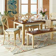 Carmichael Antique Ivory Dining Table Pier  Imports - Pier one dining room sets