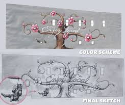Mural Painting Sketches by Mural Painting Begins In Downtown Fayetteville Fayetteville Flyer