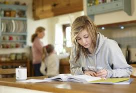 Grandparents Helping Child Doing School Homework     Stock Photo     Does homework help you learn essay   I can     t write my essay